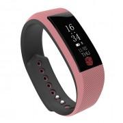 Водонепроницаемый смарт-браслет часы w808s (Розовый)
