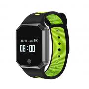 Смарт часы W11 (Черный с зеленым)