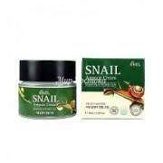 Ампульный крем с экстрактом слизи улитки Ekel Snail Ampule Cream Repairing