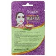 Мас AsiaKiss альгинатная с экстрактом зеленого чая АК227, 25 гр