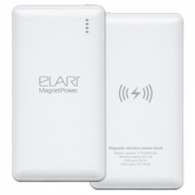 Аккумулятор Elari MagnetPower 7800 (Белый)