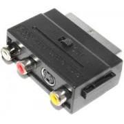 Переходник SCART - 3RCA с пререключателем IN-OUT