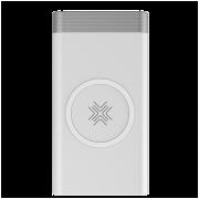 Внешний аккумулятор с беспроводной зарядкой Rock P55 Wireless Charging Power Bank 10000mAh (Белый)