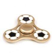 Игрушка-антистресс Spinner Спиннер крутилка треугольник металлический (Футбол)