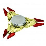 Игрушка-антистресс Spinner Спиннер крутилка треугольник металлический Легендарное оружие (Красный)