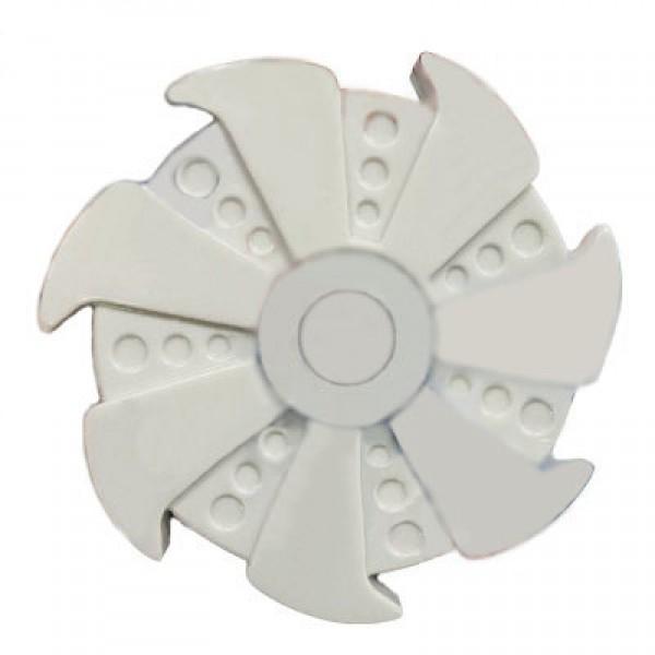 Игрушка-антистресс Spinner Спиннер крутилка Rose Turbine пластик (Белый)