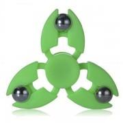 Игрушка-антистресс Spinner Спиннер крутилка с тремя стальными шариками (Зеленый)