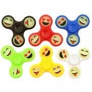 Игрушка-антистресс Spinner Спиннер крутилка смайл (Разные цвета)