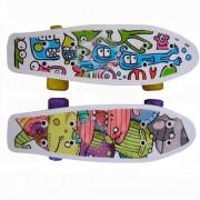 CMW019 Скейтборд пластиковый 17