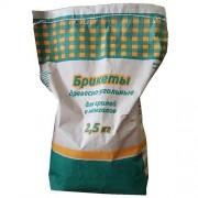 Древесно-брикетированный уголь 2,5кг
