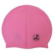 Шапочка для плавания силиконовая массажная XA40 (розовая)