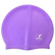 Шапочка для плавания силиконовая SH10 (фиолетовая)