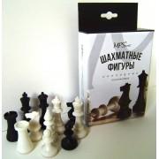 Фигуры шахматные обиходные, пластиковые