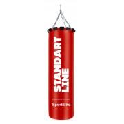 Мешок боксерский SportElite STANDART LINE 100см, d-30, 35кг, красный