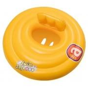 Круг для плавания с сиденьем и спинкой трехкамерный Swim Safe, ступень A, 69см