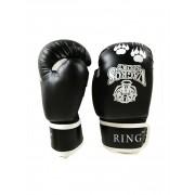 Перчатки боксерские VagroSport RING RS510, 10 унций, черный
