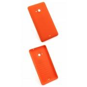 Задняя крышка пластиковая для Nokia Lumia 535 (оранжевый)