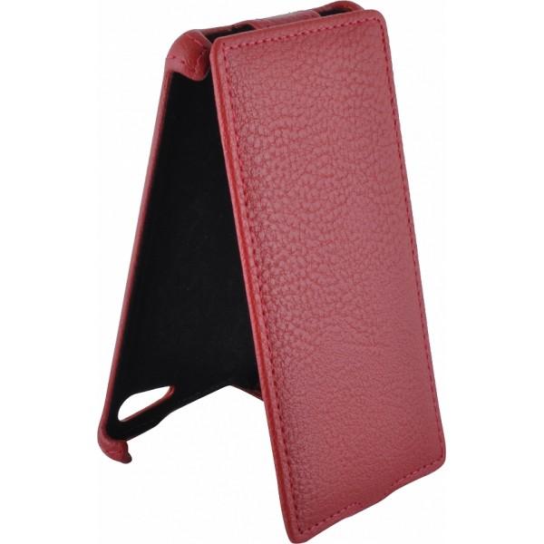 Чехол книжка Armor для телефона Sony Xperia E1 (Красный)