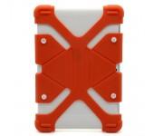 Универсальный силиконовый чехол для планшета с диагональю 9, 10, 11 дюймов (Оранжевый)
