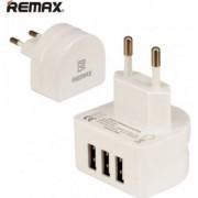 Сетевое зарядное устройство 3 USB Remax RP-U31