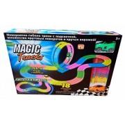 Светящийся Magic Tracks 366 деталей + 2 гоночных машинки