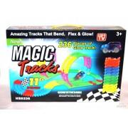Светящийся Magic Tracks 236 деталей : оптом коробка 24 шт