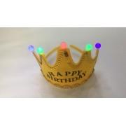 Корона, светящаяся с лампой и аккумуляторной батарейкой