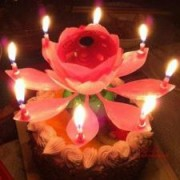 Раскрывающаяся музыкальная свеча для торта