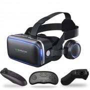 Шлем виртуальной реальности 3D-VR shinecon 6.0 (Черный)