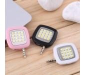 Внешняя универсальная LED-вспышка для смартфона (Розовый)