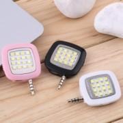 Внешняя универсальная LED-вспышка для смартфона (Черный)