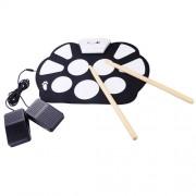 Цифровая ударная установка Jazz Drum Kit W-758 барабаны