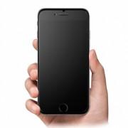 Матовое защитное стекло для iPhone 6, 6S (Черное)