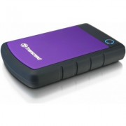 Внешний жесткий диск HDD Transcend 1TB H3, фиолетовый, 2.5, USB 3.0