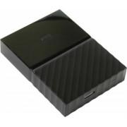Внешний жесткий диск HDD WD 2TB My Passport Slim, чёрный, 2.5, USB 3.0