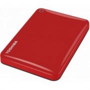 Внешний жесткий диск HDD Toshiba 1TB Canvio Connect II, красный, 2.5, USB 3.0