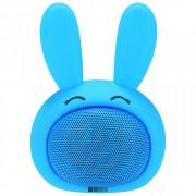 Детская Bluetooth акустика InterStep 3W SBS-150 FUNNY BUNNY (Голубой)