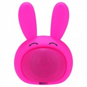 Детская Bluetooth акустика InterStep 3W SBS-150 FUNNY BUNNY, розовая