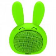 Детская Bluetooth акустика InterStep 3W SBS-150 FUNNY BUNNY, салатовая