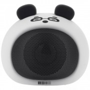 Детская Bluetooth акустика InterStep 3W SBS-140 FUNNY PANDA,бело-черный