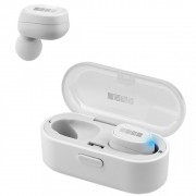 Bluetooth-наушники с микрофоном Interstep TWS SBH-520 (Белые)