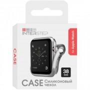 Interstep Бампер для Apple Watch 38mm (Серебро)