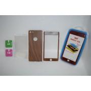 Защита для телефона 360* для iPhone 6 plus пластик, под дерево