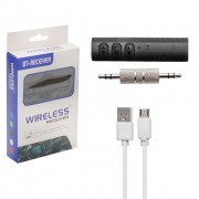 Bluetooth адаптер 801 черный (90 mAh 3-4h)