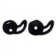 Накладка для AirPods силиконовая черная
