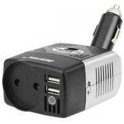 Автомобильный инвертор напряжения Bestek 150W Car Inverter MRI1513C (Черно-серый)