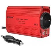 Автомобильный инвертор напряжения Bestek 300W Car Inverter MRI3013BU (Красный)