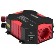 Автомобильный инвертор Bestek 400W Car Inverter MRI4013IU (Черно-красный)