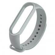 Сменный браслет Xiaomi Mi Band 5 однотонный (Серый)