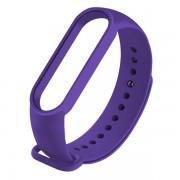 Сменный браслет Xiaomi Mi Band 5 однотонный (Фиолетовый)